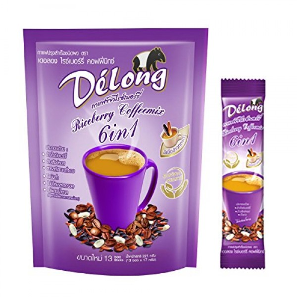 2 packs of DeLong Delong 6 in 1 Premium Coffee Benefits from Ri...