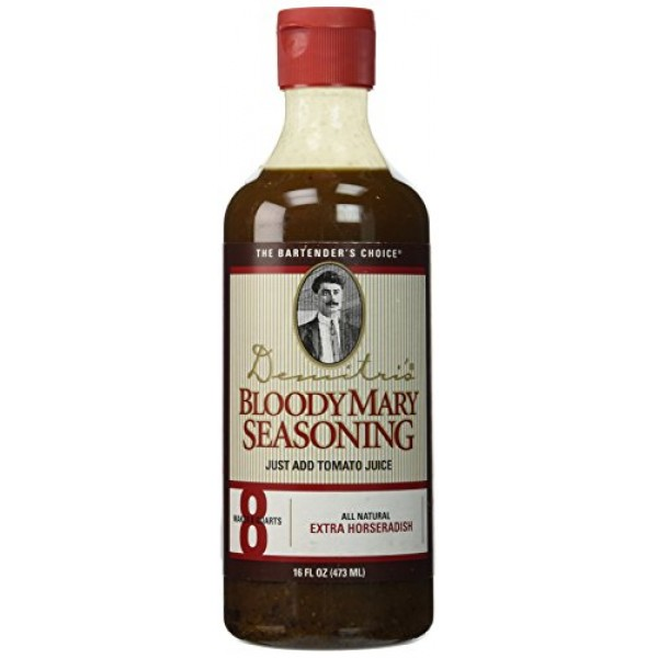 Demitris Extra Horseradish Bloody Mary Seasoning Mix - 16 oz