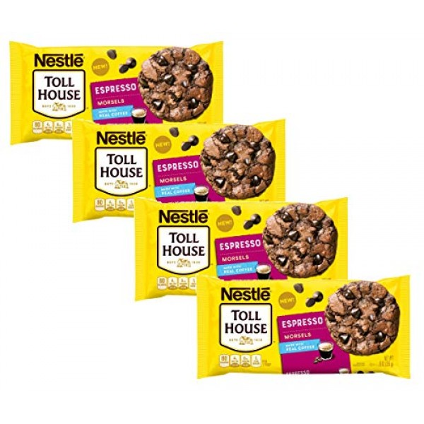 Nestle Toll House Espresso Baking Chip Morsels, 9 Oz Each - Pack...