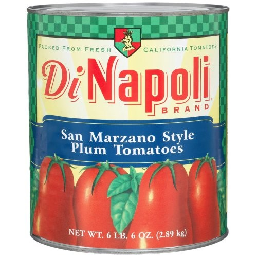 Di Napoli Italian Style Plum Tomatoes, 102-Ounce Cans Pack of 2