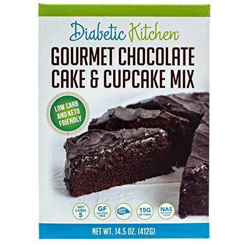Diabetic Kitchen Keto Chocolate Cake Mix - Keto Friendly Low Car...