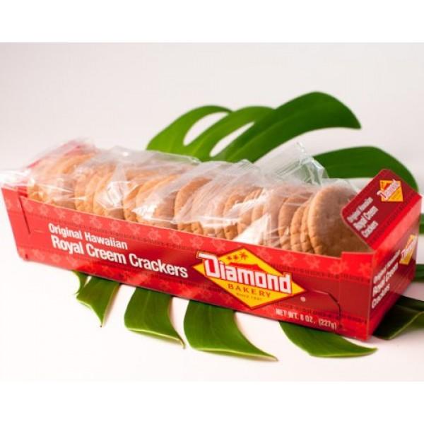 Diamond Bakery - Original Hawaiian Royal Creem Crackers Net Wt....