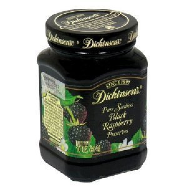 Dickinsons Preserves 10 Ounce Pack of 3 Pure Seedless Black ...