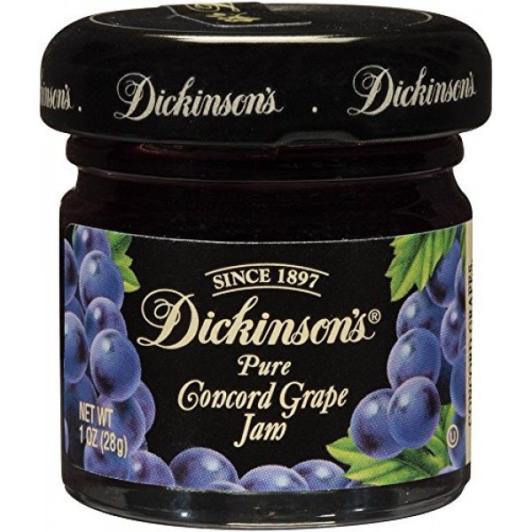 Dickinsons Pure Concord Grape Jam, 72 Count
