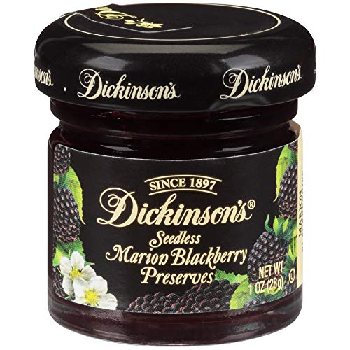 Dickinsons Seedless Marion Blackberry Preserves, 1 Ounce Pack ...