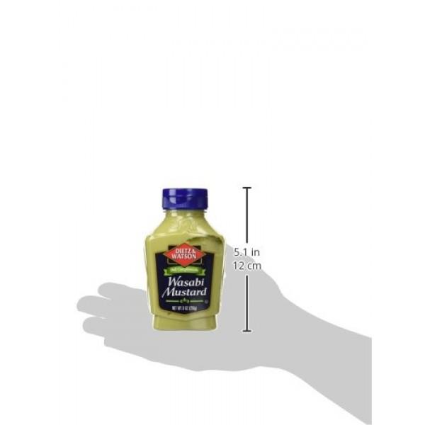 Dietz & Watson, Deli Compliments, Wasabi Mustard, 9oz Bottle Pa...