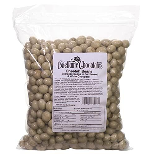 Bulk Chocolate Espresso Beans Marbled Cheetah - Dilettante - 5lb