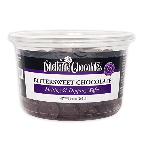 Bittersweet Chocolate Melting & Dipping Wafers, 72% Cacao - 9.5 ...
