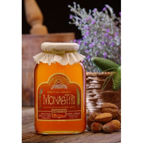 """Monastiri"" Cretan Thyme, Flower and Coniferous Tree Honey 450g"