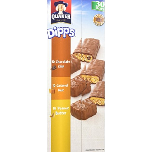 Dipps TRIPLE PLAY CLUB PACK 935 grams 30ct Pack Granola & Trail ...