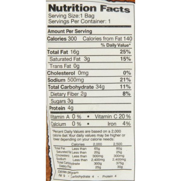 Dirty Potato Chips, Funky Fusion, 25 count, 2 Ounce