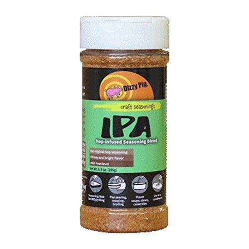 Dizzy Pig IPA Hop-Infused BBQ Spice Rub Seasoning Blend - 8 oz