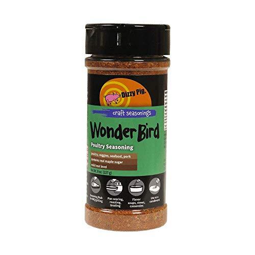 Dizzy Pig Wonder Bird Poultry BBQ Seasoning Spice and Dry Rub - ...