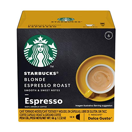 Starbucks Coffee by Nescafe Dolce Gusto, Starbucks Blonde Espres...