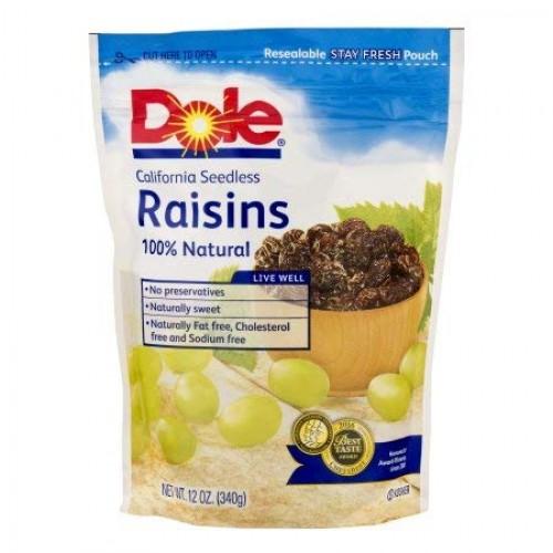 California Seedless Raisins Pack of 4