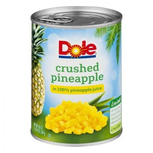 Crushed Pineapple In 100% Pineapple Juice Pack of 2