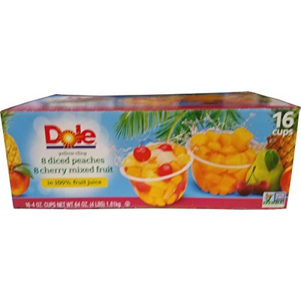 Dole Fruit Bowl Variety Pack 3.99 LBS, 3.99 lb