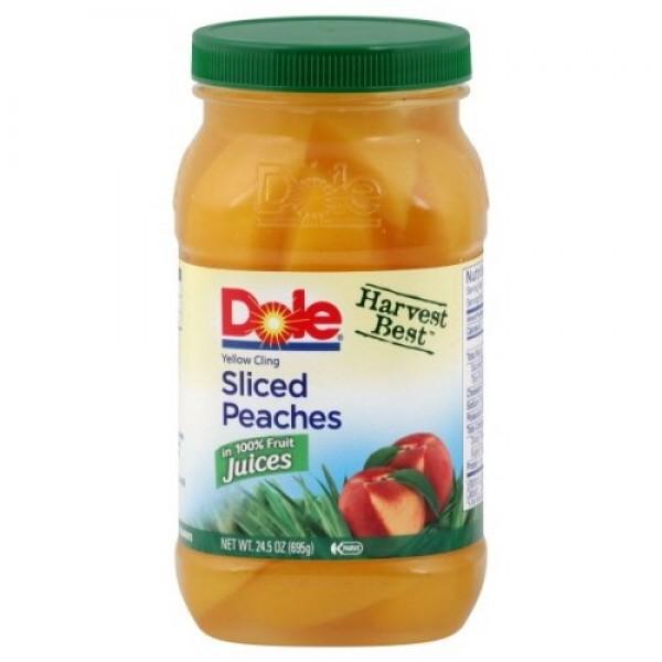 Dole Harvest Best Fruit in 100% Fruit Juice 23.5oz Jar Pack of ...