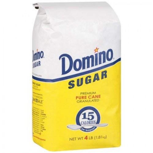 Domino: Pure Cane Granulated Sugar, 4 Lb 2 pack