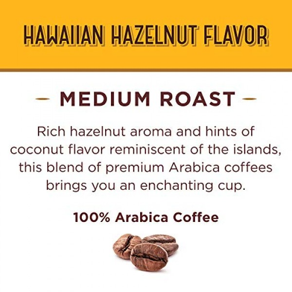 Don Franciscos Hawaiian Hazelnut Flavored 24 Count Single-Ser...