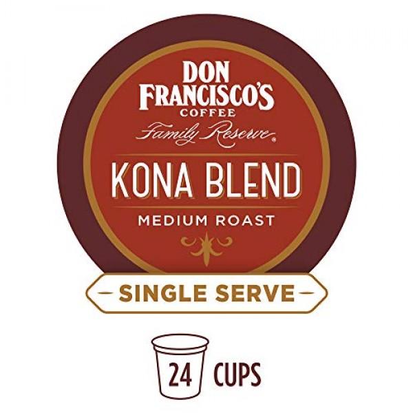 Don Franciscos Kona Blend 24 Count Recyclable Single-Serve Co...