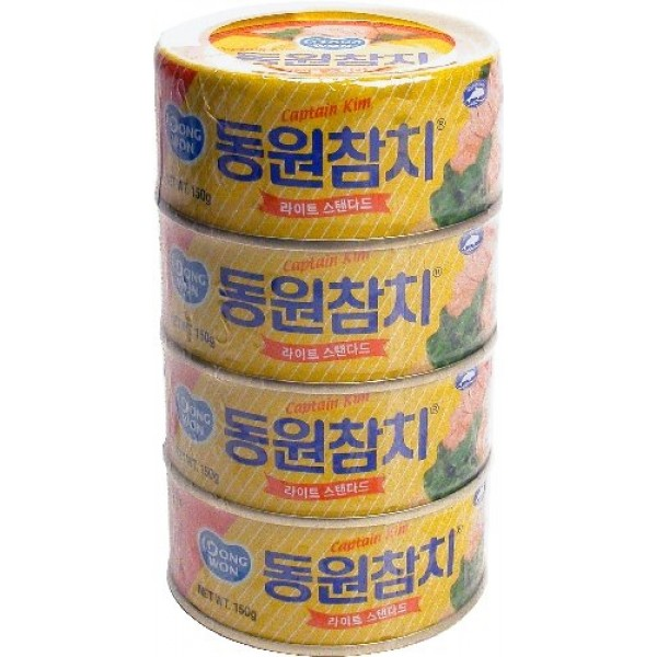 Dongwon Tuna Can, 150gram 4 Cans