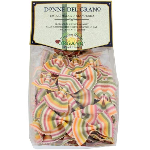 Donne Del Grano Organic Gourmet Italian Vegetable Colored Rainbo...