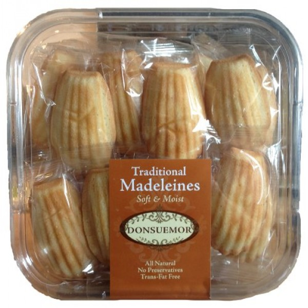 Donsuemor Traditional Madeleines - 28 Individually Wrapped - 28 ...