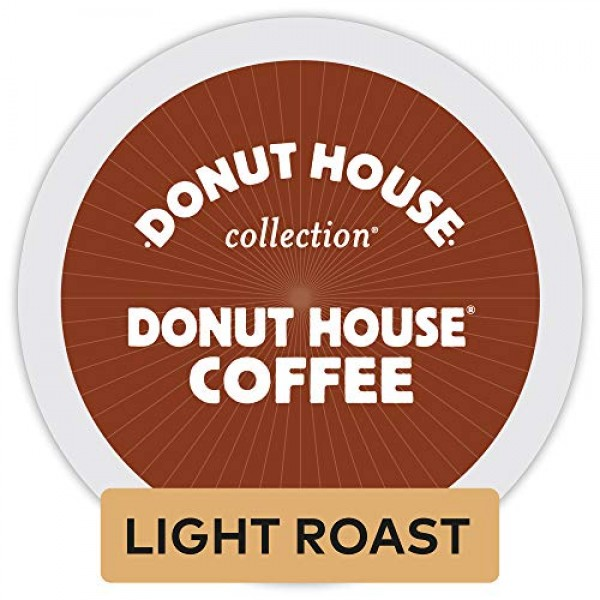 Donut House Collection Donut House Coffee, Single-Serve Keurig K...