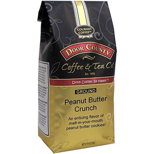 Door County Coffee, Peanut Butter Crunch, Flavored Coffee, Mediu...
