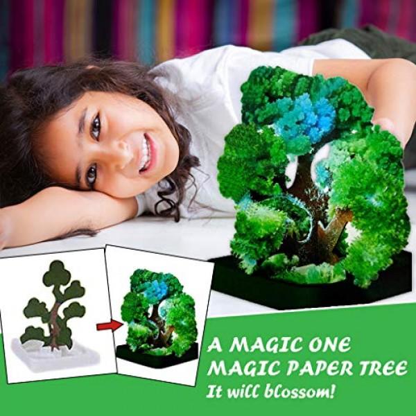 Dosoop Magic Growing Christmas Tree, Kids DIY Felt Halloween Dec...