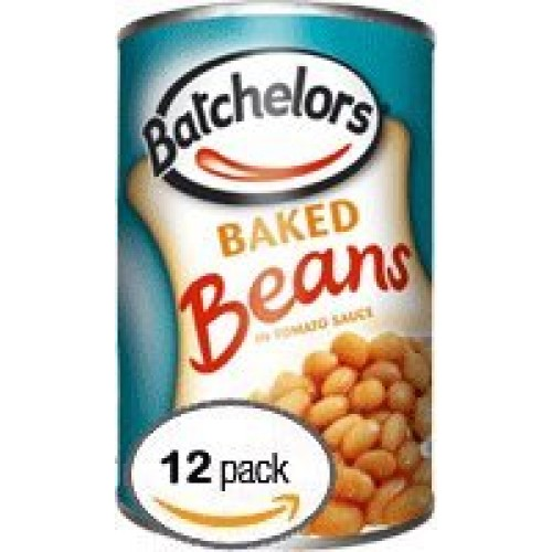Batchelors Baked Beans In Tomato Sauce, 14.8-Ounce Cans (Pack of...