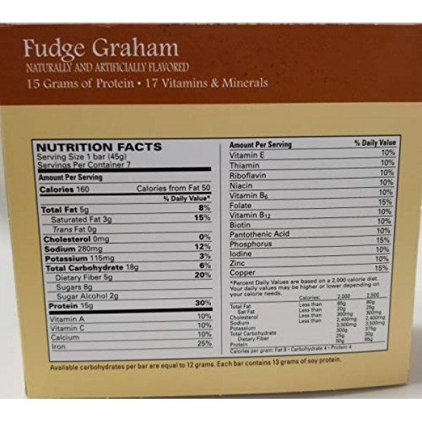 Nutmeg State Nutrition High Protein Snack and Meal Replacement B...