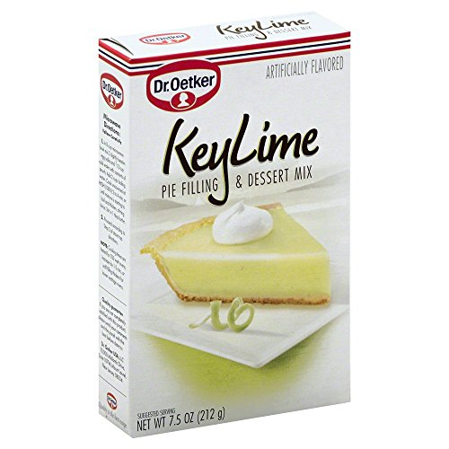 Dr. Oetker Organics Key Lime Pie Filling And Dessert Mix, 7.5 Ounce