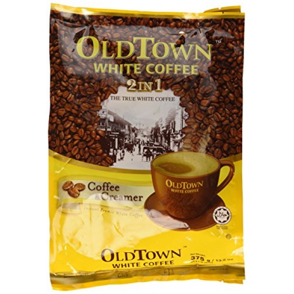 Old Town - White Cafe 2 IN 1 13.20 Oz Pack of 1