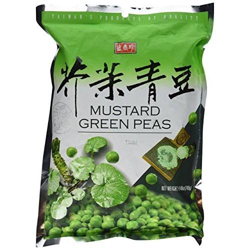 Shengxiangzhen Mustard Green Peas 8.46oz Pack of 1