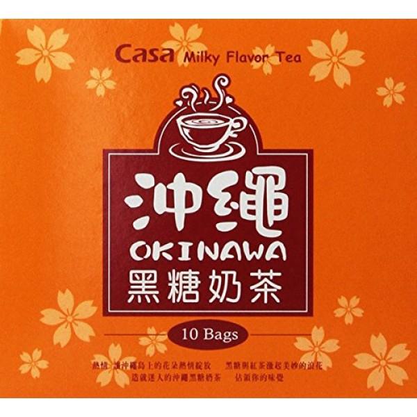 Casa Milky Flavor Tea, Hokkaidou Sapporo, 10-count Boxes Pack o...