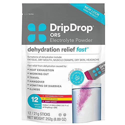 DripDrop ORS – Patented Electrolyte Powder for Dehydration Relie...