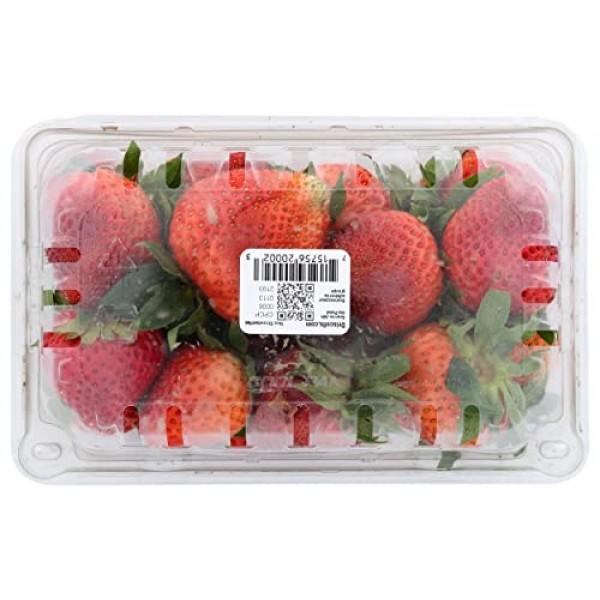Berry Strawberry Conventional, 16 Ounce