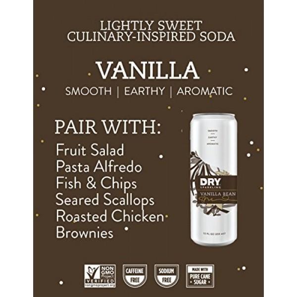 DRY Non-Alcoholic Vanilla Botanical Bubbly I 4 Clean Ingredients...