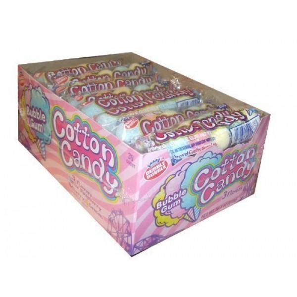 Dubble Bubble Cotton Candy Bubble Gum 5 Pieces Per Sleeve Pack ...
