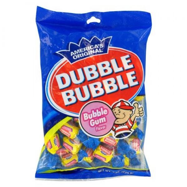 Double bubble bubble gum candy 4 oz bag
