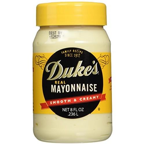 Dukes Real Mayonnaise - Two 8 Fl Oz Jars