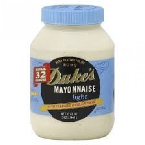 Dukes Light Mayonnaise 32 Ounce 2 Pack