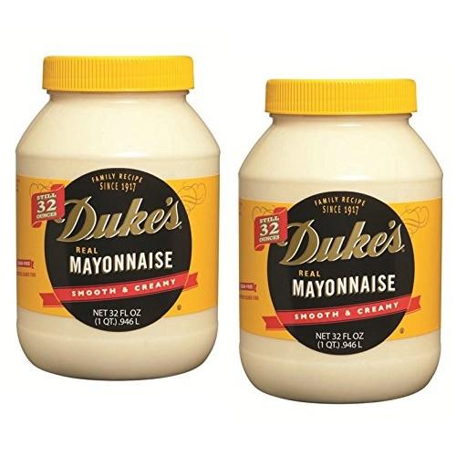 Dukes Real Mayonnaise, 32 oz. jar 2-pack case