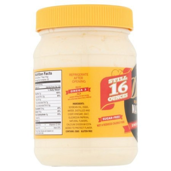 Dukes Real Mayonnaise Smooth & Creamy 2-16 fl oz Jars