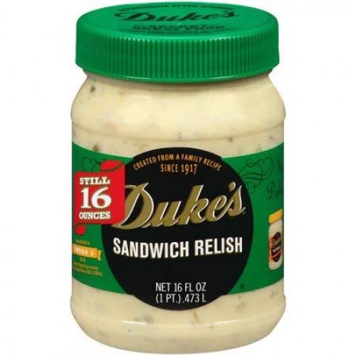 Dukes Sandwich Relish, 16 oz, 3 pack