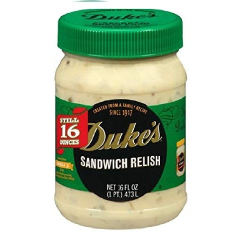 Dukes Sandwich Relish 16oz Pack of 2 2 jars
