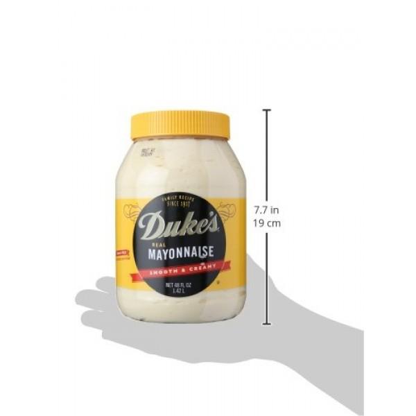 Dukes Smooth And Creamy Real Mayonnaise, 48 oz