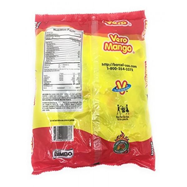 Dulces Vero Vero Mango Paletas Sabor Fresa Con Chile Mexican Har...